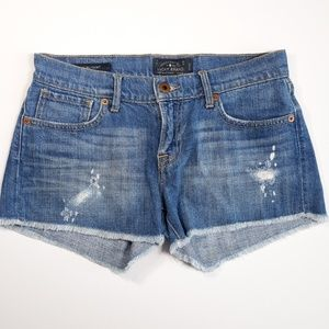 Lucky Brand 00 / 24 Malibu Distressed Denim Shorts
